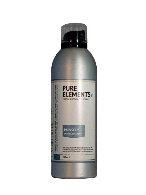 Pure Elements Laque Hibiscus kinrožių lakas plaukams