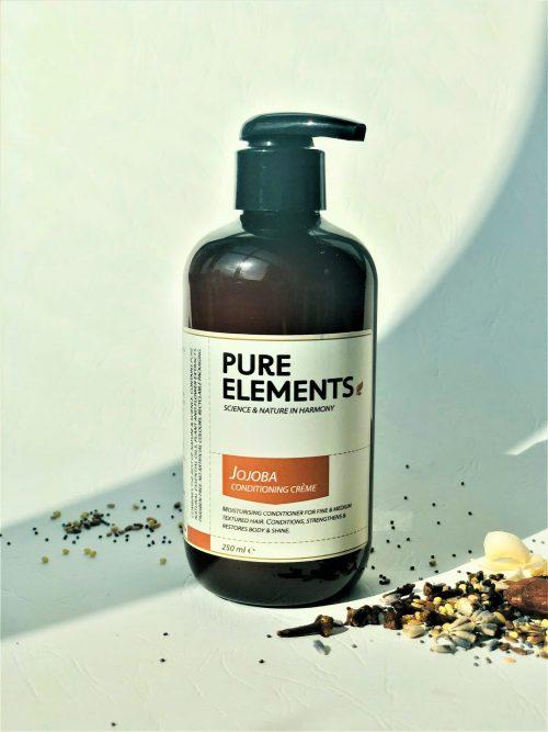 Pure Elements Jojoba Conditioning plaukus drėkinantis simondsijų (jojoba) kremas