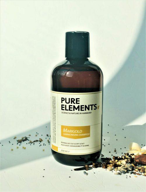 Pure Elements Marigold Harmonizing plaukus harmonizuojantis medetkų šampūnas