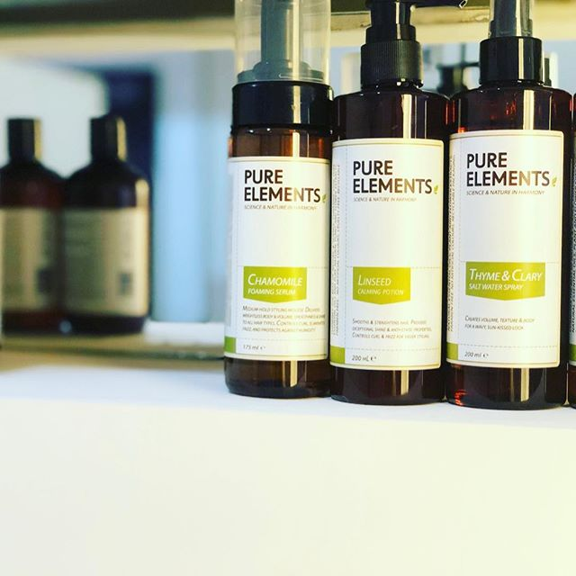 Pure Elements plaukų modeliavimo priemonės