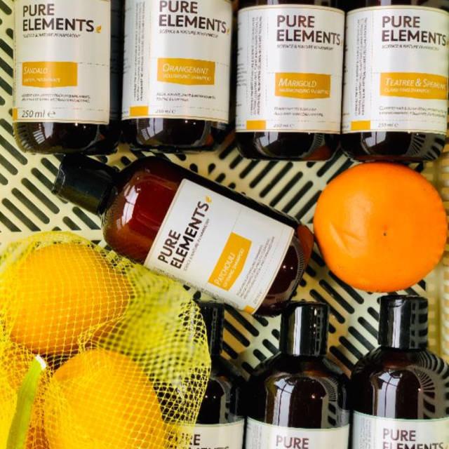 Pure Elements šampūnai