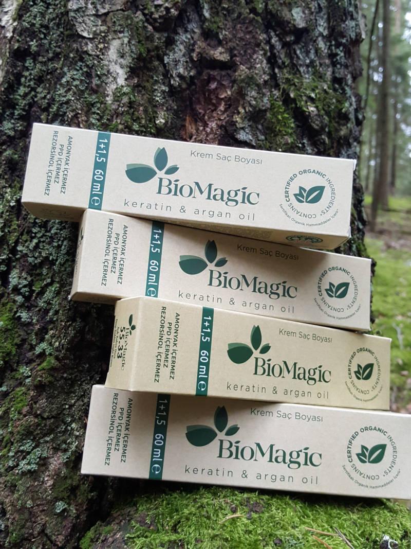 biomagic plaukų dažai